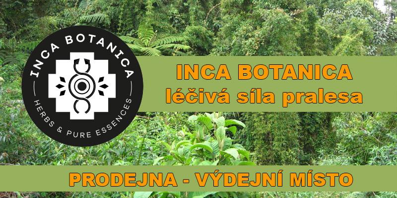 Inca Botanica prodejna Praha